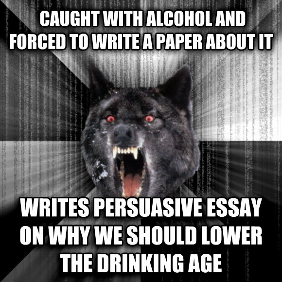 Drinking Age Essay Research