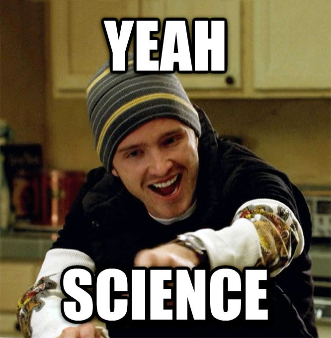 Jesse Pinkman - Yeah, Science Lady! yeah  science , made with livememe meme creator