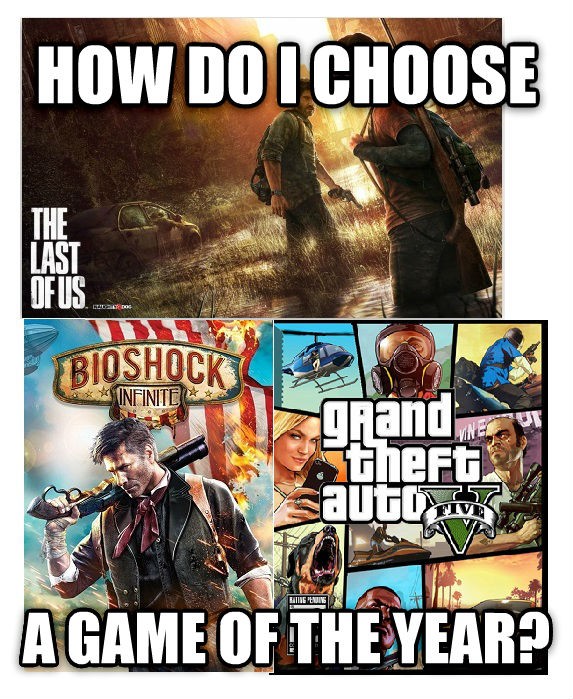 untitled meme how do i choose a game of the year? , made with livememe meme maker