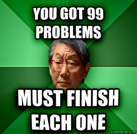 99 problems thesis