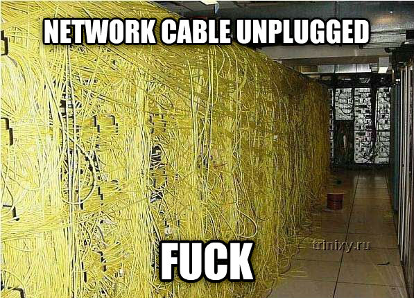 untitled meme network cable unplugged flip , made with livememe meme maker