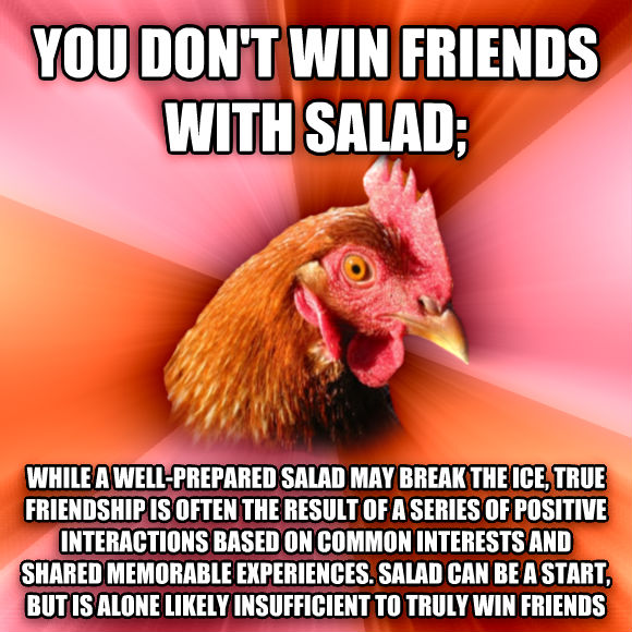 chicken dating agency joke Vegetarian humor, vegan jokes,  - to prove he wasn't chicken  if anything on this vegetarian humor page was used without the proper or necessary permission,.