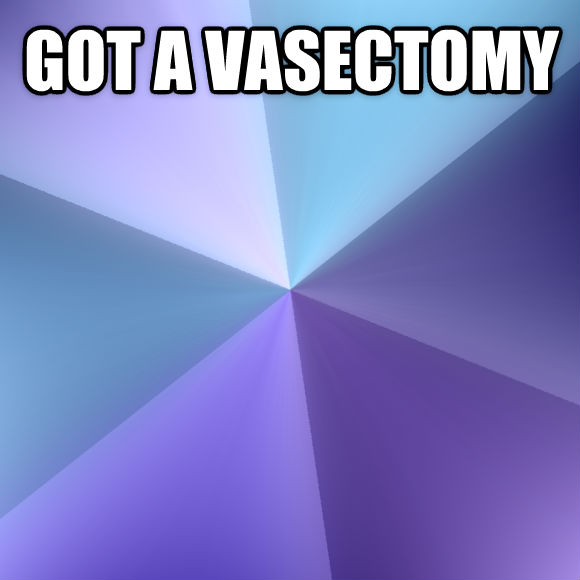 Success Kid got a vasectomy   , made with livememe meme maker