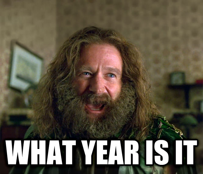 What Year Is It? (Jumanji)  what year is it , made with livememe meme creator