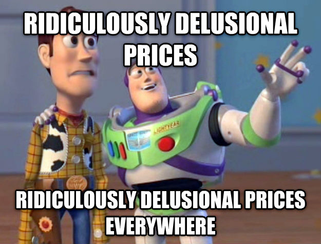 Toy Story Everywhere ridiculously delusional prices ridiculously delusional prices everywhere , made with livememe meme generator