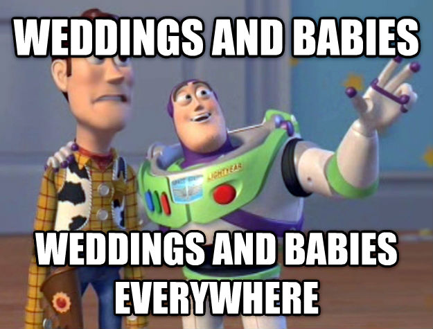 Weddings and Babies