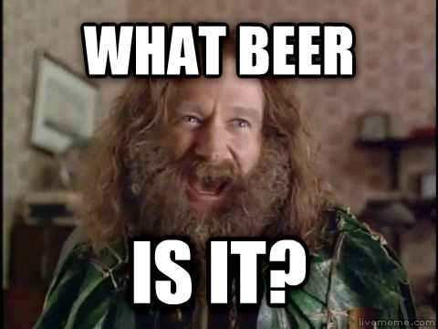 What Year Is It? (Jumanji) what beer is it? , made with livememe meme maker