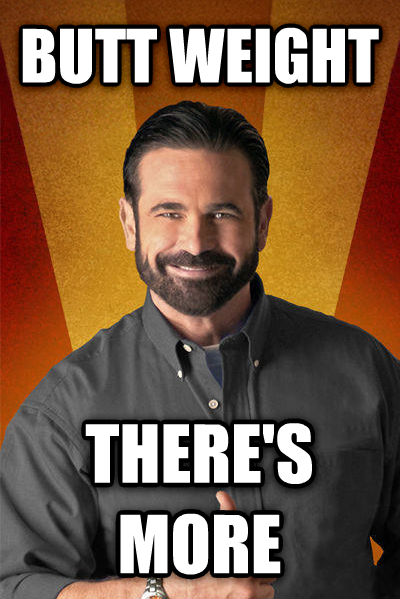 Billy Mays - But Wait, There s More butt weight there s more , made with livememe meme generator