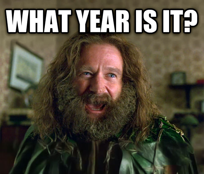 What Year Is It? (Jumanji) what year is it?  , made with livememe meme maker