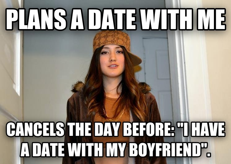 dating advice girl cancels plans