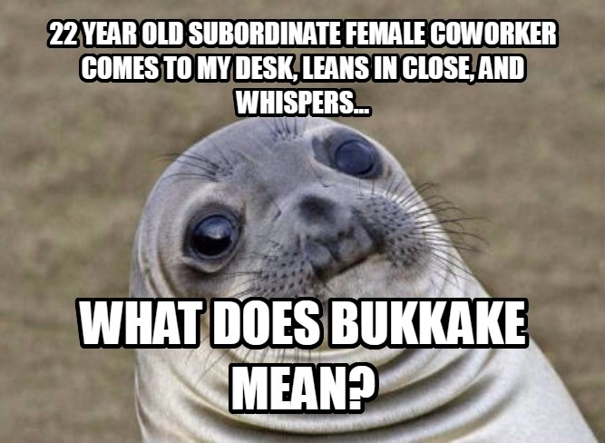 What does bukkake mean