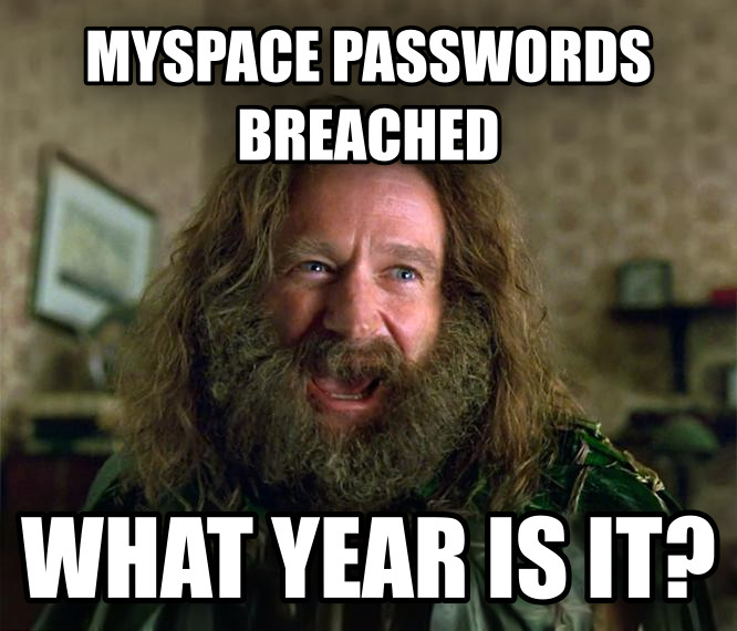 What Year Is It? (Jumanji) myspace passwords breached what year is it? , made with livememe meme creator
