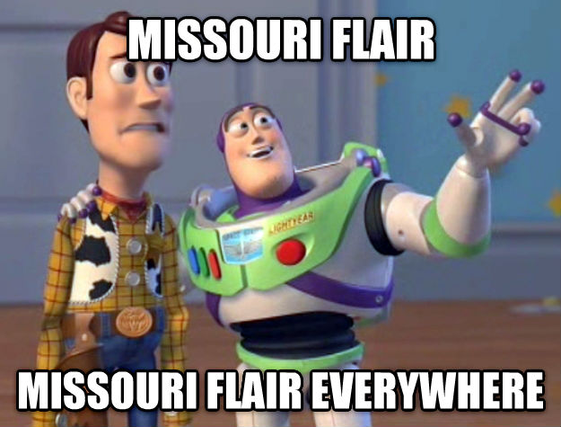 Toy Story Everywhere missouri flair missouri flair everywhere , made with livememe meme generator