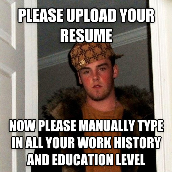 Please upload your resume