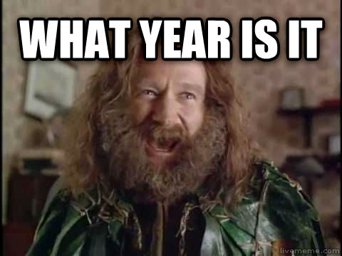 What Year Is It? (Jumanji) what year is it  , made with livememe meme generator