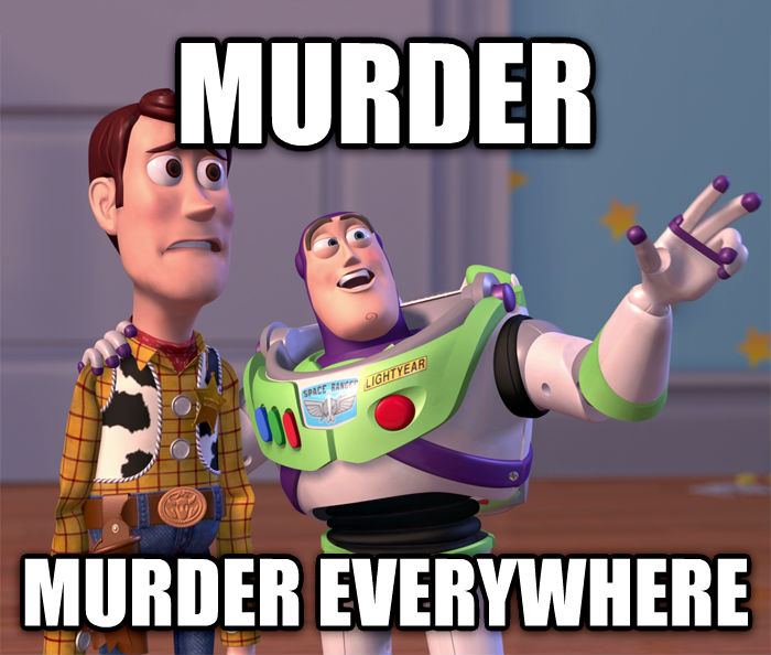 Toy Story Everywhere murder murder everywhere , made with livememe meme creator