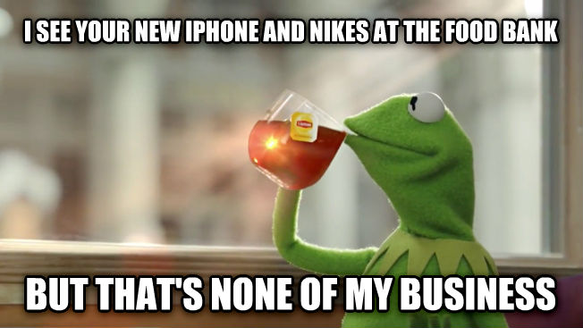The Best Of The That S None Of My Business Kermit Meme: None Of My Business Kermit