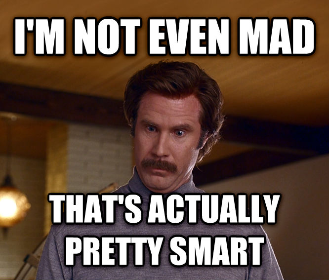 Actually, I m Not Even Mad; That s Amazing i m not even mad that s actually pretty smart , made with livememe meme maker