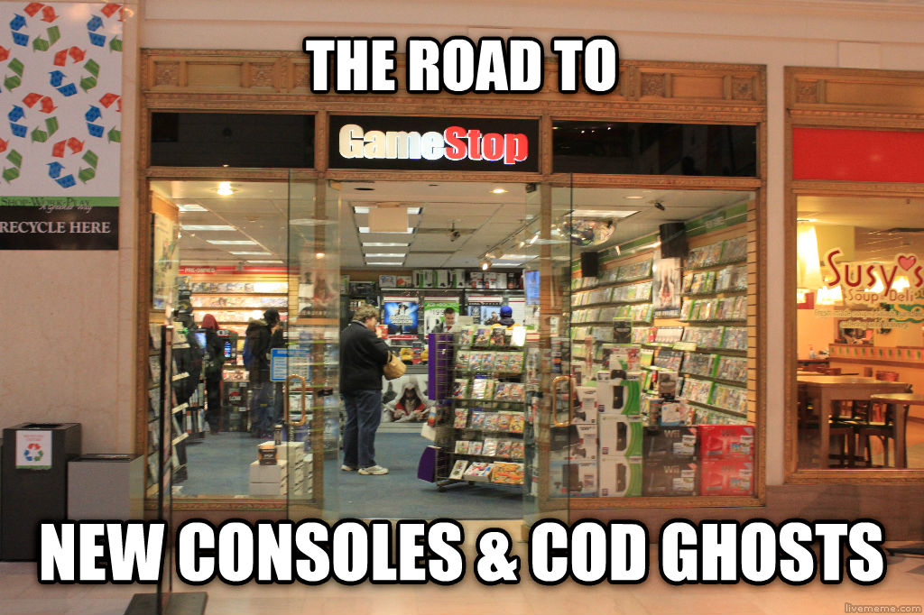 PKA ROAD TO the road to new consoles & cod ghosts , made with livememe meme maker