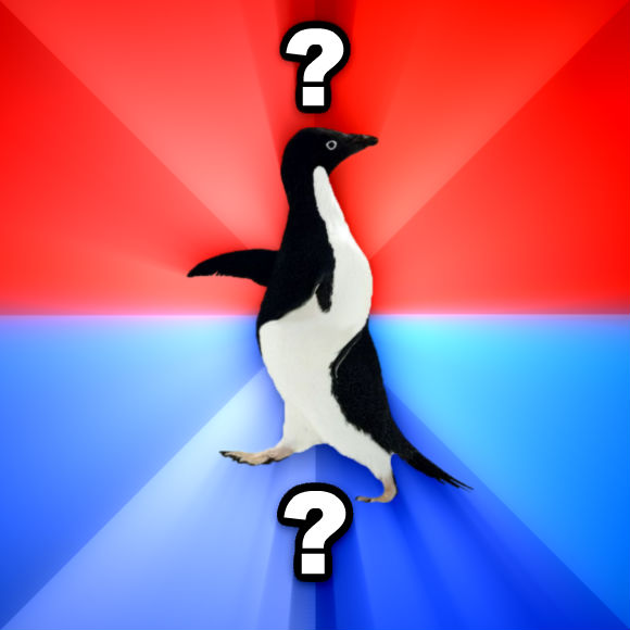 Socially Awesome Awkward Penguin ? ?  , made with livememe meme maker