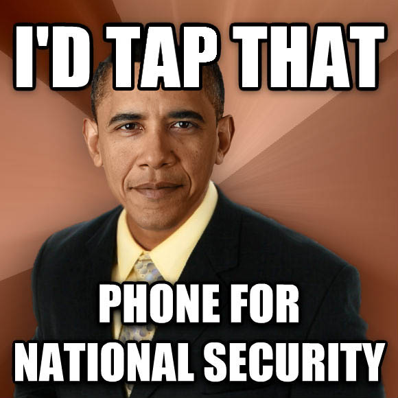 Successful Black Man i d tap that phone for national security  , made with livememe meme generator