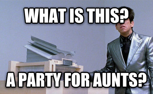 What Is This, For Ants? what is this? a party for aunts? , made with livememe meme maker
