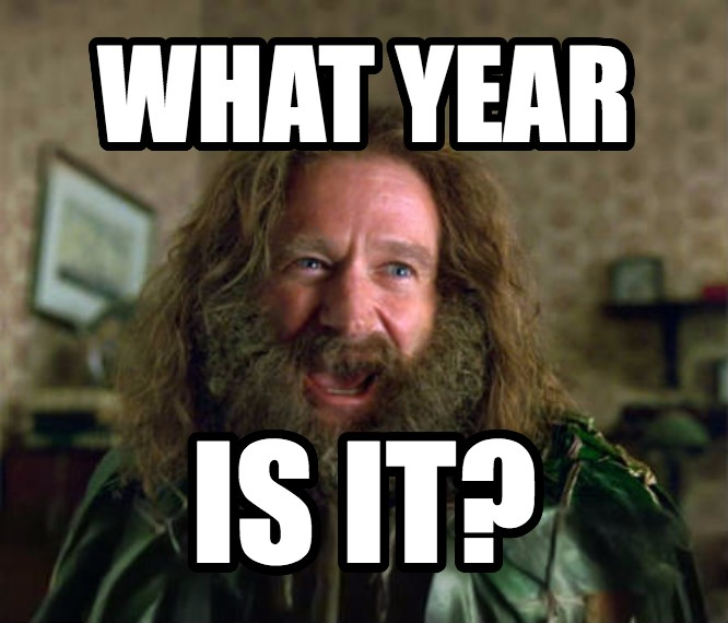 What Year Is It? (Jumanji) what year is it? , made with livememe meme creator