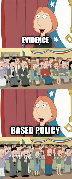 Lois Griffin evidence based policy , made with livememe meme maker