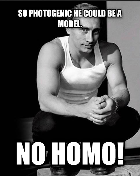 untitled meme so photogenic he could be a model.  no homo! , made with livememe meme generator