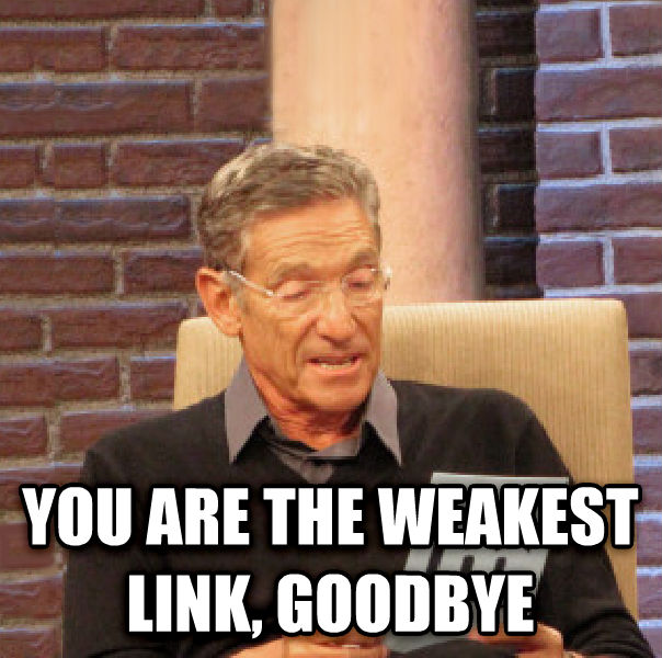 Maury Determined That Was a Lie   16,399,572,189 !you are the weakest link, goodbye  1  1   \   x                   @d  c         \ x                      you said top text   6                but bottom text determined that was a lie                                                                                   h                                  impact                                   @ #     you are the weakest link, goodbye , made with livememe meme maker