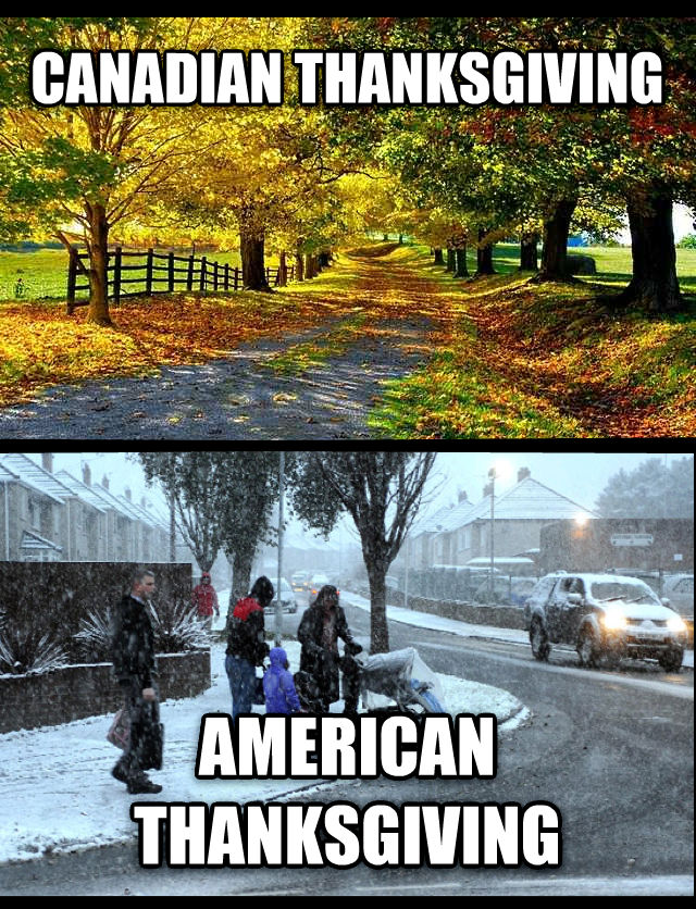 untitled meme canadian thanksgiving american thanksgiving , made with livememe meme creator