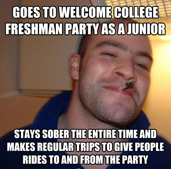 Two Kinds Of People On Campus: Party Animal And The Sober Guy