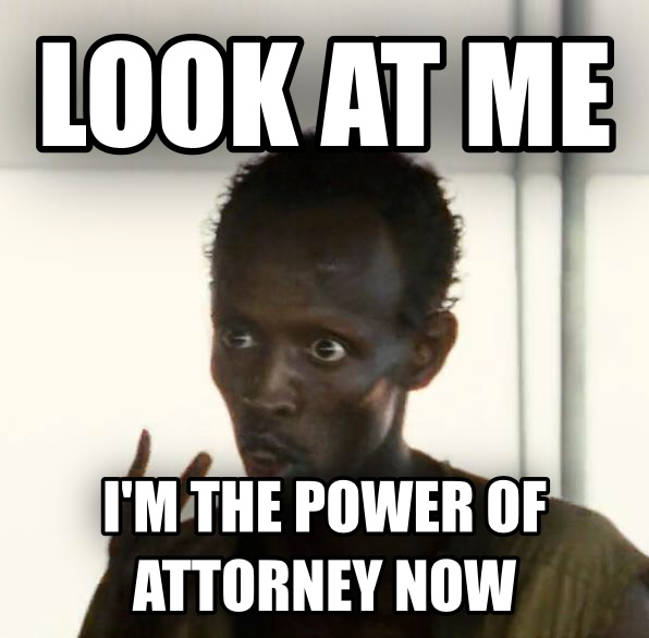 Look At Me, I m The Captain Now look at me  i m the power of attorney now , made with livememe meme maker