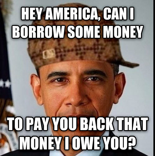 dsfds hey america, can i borrow some money to pay you back that money i owe you? , made with livememe meme creator