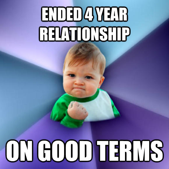 How the relationship ended 5