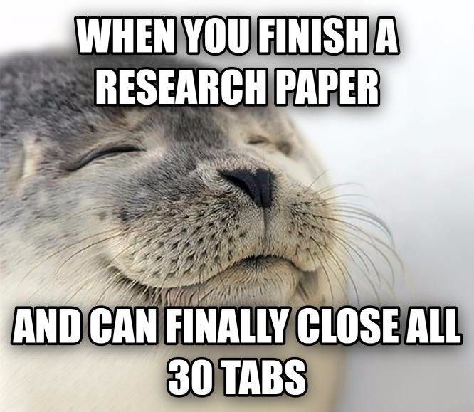finished research paper