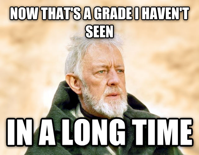Obi Wan Kenobi - Now, That s a Name I ve Not Heard in a Long Time now that s a grade i haven t seen in a long time , made with livememe meme maker