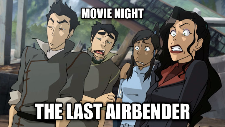 untitled meme movie night the last airbender , made with livememe meme maker