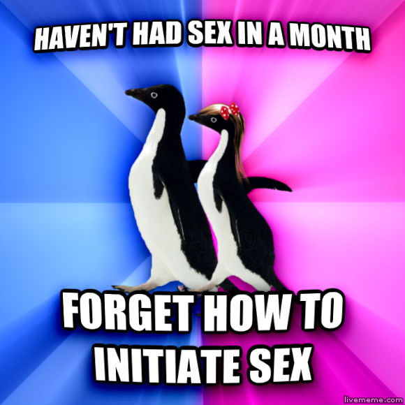 Socially Awkward Couple haven t had fun in a month forget how to initiate fun  , made with livememe meme maker
