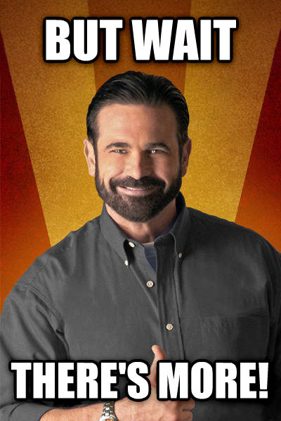Billy Mays - But Wait, There s More but wait there s more! , made with livememe meme creator